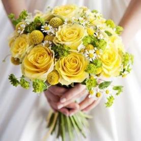 "Букет Невесты ""Жёлтый Микс""  фото"