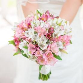 Букет Невесты Из Альстромерий фото