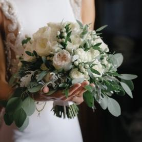 """Букет Невесты """"Белое Золото"""" фото"""