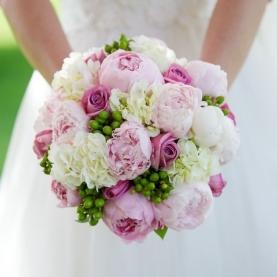 """Букет Невесты """"Бело-Розовый"""" фото"""