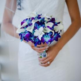 """Букет Невесты """"Калла И Орхидея"""" фото"""