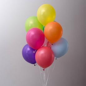 9 Разноцветных Воздушных Шаров фото
