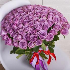 101 Фиолетовая Роза (40 см.)