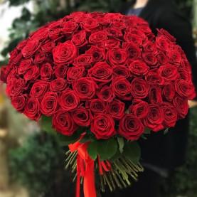 101 Красная Роза (50 см.)