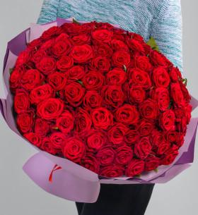 101 Красная Роза (40 см.)