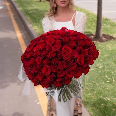 101 Красная Роза (Высокая)  фото