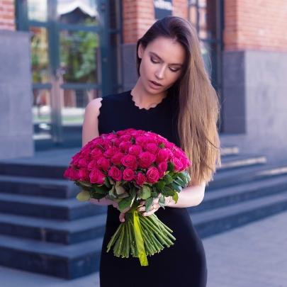 101 Малиновая Роза фото