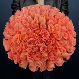 101 Коралловая Роза (40 см.)