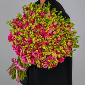 101 Розовая Эустома фото