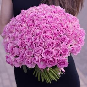 101 Ярко-Розовая Роза (40 см.)