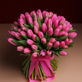101 Розовый Тюльпан фото
