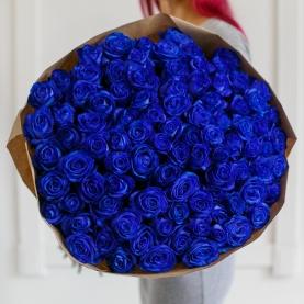 101 Синяя Роза (70 см.)