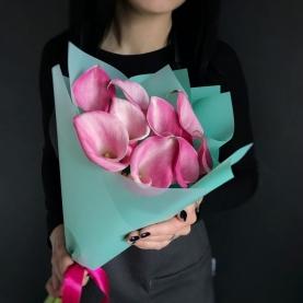 11 Розовых Калл фото