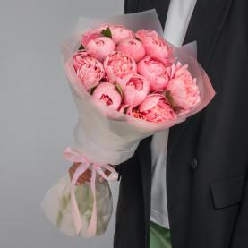 11 Розовых Пионов фото