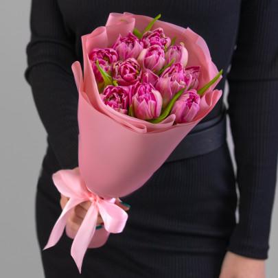 11 Сиреневых Пионовидных Тюльпанов фото