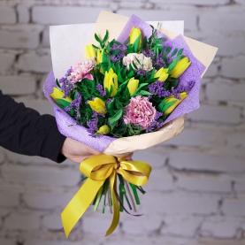 11 Тюльпанов желтых фото
