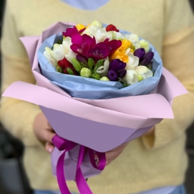 15 Цветных Фрезий фото