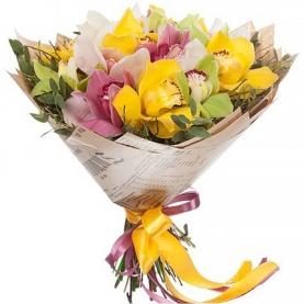 15 Орхидей Mix фото