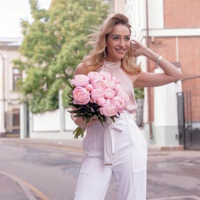 15 Розовых Пионов фото