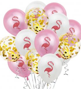 """15 Воздушных Шаров """"Фламинго"""""""