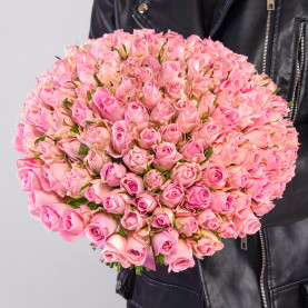 151 Светло-Розовая Роза (30-40 см.) фото