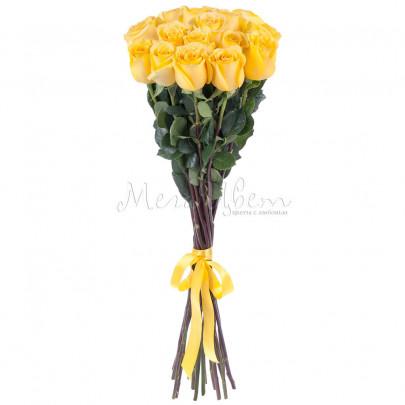 17 Желтых Роз Эквадор (70/80 см.) фото