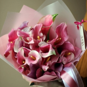 21 Розовая Каллал фото