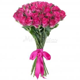 25 Малиновых Роз фото