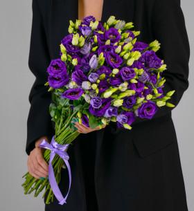 19 Фиолетовых Эустом фото