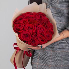 19 Красных Роз (50 см.) фото