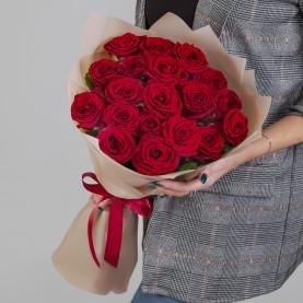 19 Красных Роз (60 см.) фото