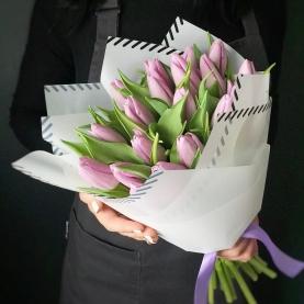 19 Сиреневых Тюльпанов фото