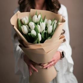 21 Белый Тюльпан фото