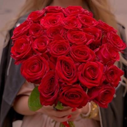 25 Красных Роз (50 см.) фото