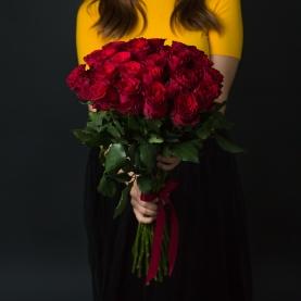 25 Красных Роз Эквадор (70/80 см.) фото