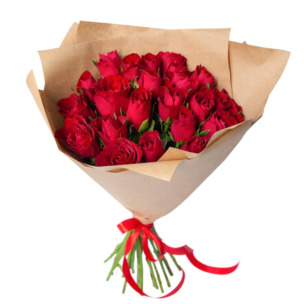 25 Красных Роз фото