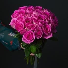 25 Розовых Роз фото