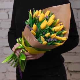 25 Тюльпанов желтых фото