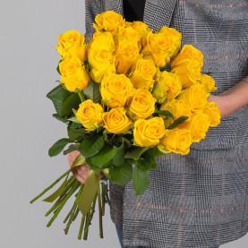 25 Желтых Роз (50 см.) фото