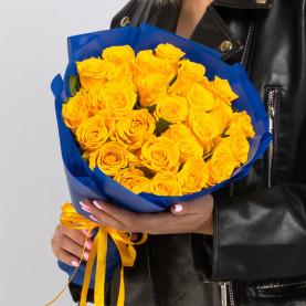 25 Желтых Роз фото