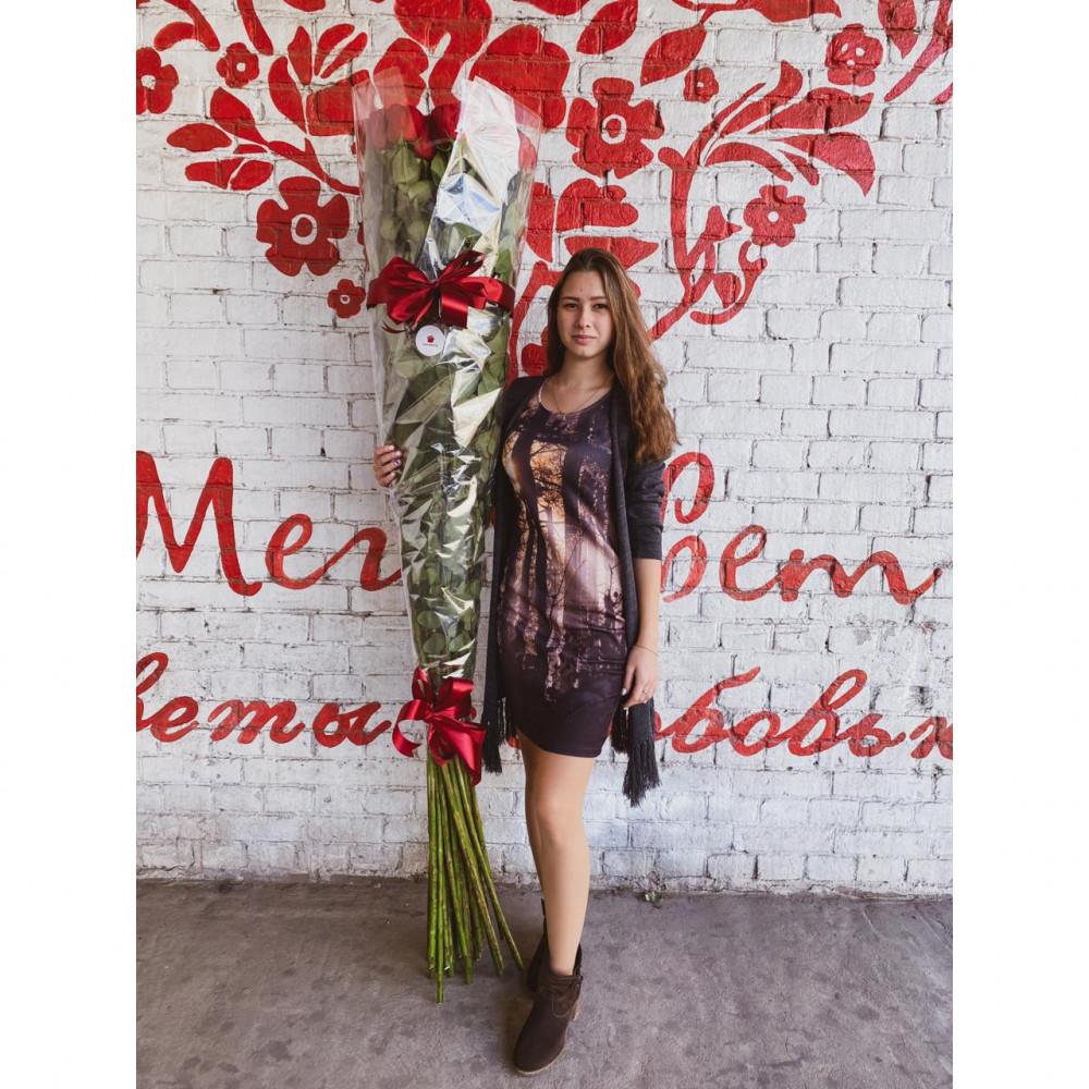 31 Красная Роза (180-200 см.) фото