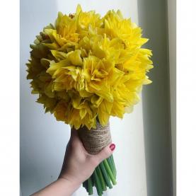 31 Желтый Махровый Нарцисс фото