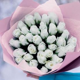 35 Белых Роз фото