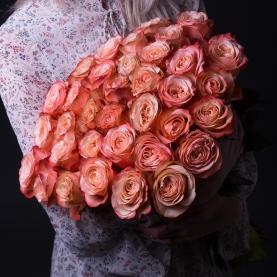 35 Коралловых Роз Эквадор (50/60 см.) фото