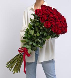 35 Красных Роз (100 см.) фото