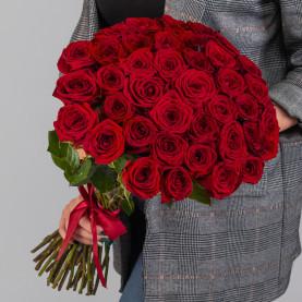 35 Красных Роз (50 см.) фото