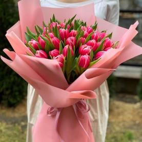35 Пионовидных Тюльпанов Колумбус фото