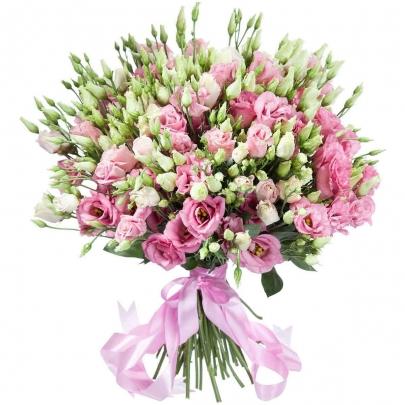 35 Розовых Эустом фото