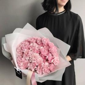35 Розовых Гвоздик фото