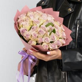 35 Сиреневых Роз (40 см.) фото